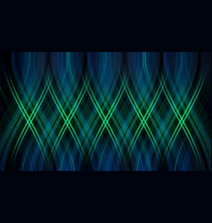 abstract colorful glowing geometric pattern vector image