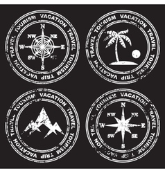 Different versions of the mark vector image