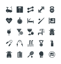 Fitness Cool Icons 1 vector