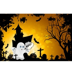 Grunge Halloween Card vector