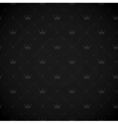 Seamless royal background vector