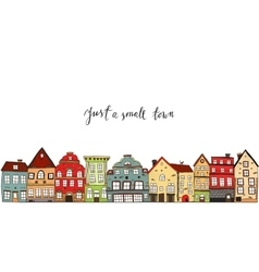 Small Town Design vector