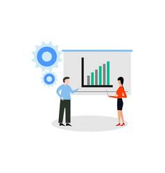 web page design templates for presentation vector image