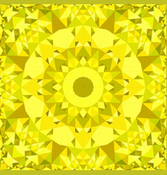 yellow abstract seamless triangle mosaic tile vector image