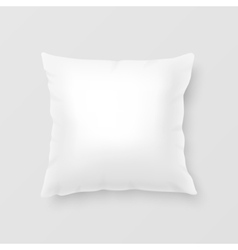 Realistic pillow vector image