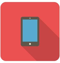 smartphone icon vector image vector image