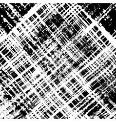 Distress Checker Texture Diagonale vector image vector image