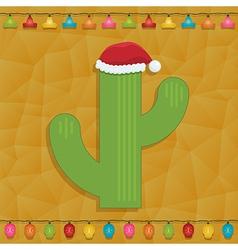 Mexican christmas decoration vector