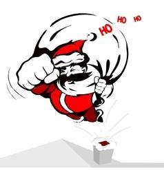 Cool Santa Claus vector