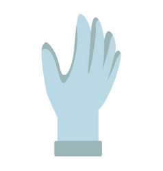 Glove protective accessory for astronaut suit vector
