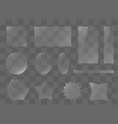 rectangle texture plate vector image