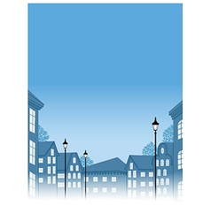 Townscape View vector