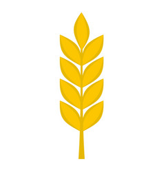 Wheat spike icon isolated vector