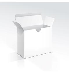Blank Open Box vector image