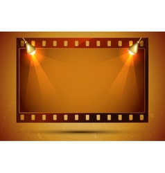 Blank Film Strip vector image