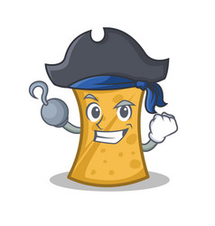 Pirate kebab wrap character cartoon vector
