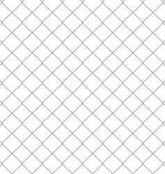 Chain link fence seamless pattern vector