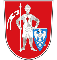 Coat of arms of bamberg in upper bavaria in vector