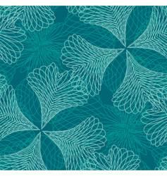 decorative filigree pattern vector image
