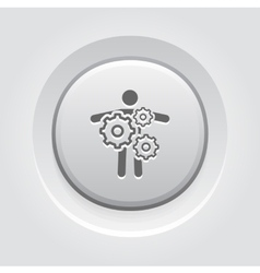 Key Person Icon Business Concept vector