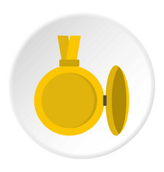 Medallion with blank space for photo icon circle vector