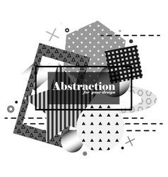 monochrome modern background vector image