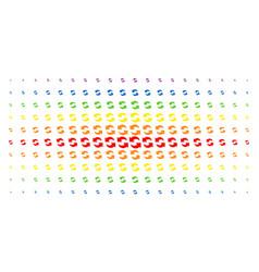Refresh spectral halftone array vector