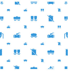 tank icons pattern seamless white background vector image
