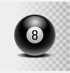 the magic ball of predictions for decision-making vector image