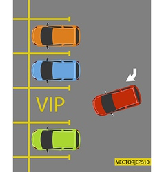 VIP PARKING vector image vector image