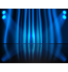 Curtained Stage vector image