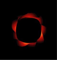 Fractal design element or banner for web vector image vector image