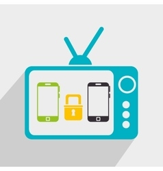 Digital marketing or online marketing vector