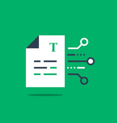 Document terms and conditions write article vector