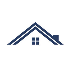 Minimalist roof simple graphic vector