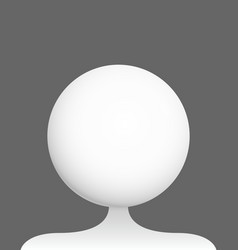 Profile picture placeholder vector