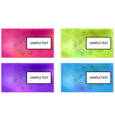 templates set3 vector image