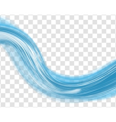 Water wave background vector image