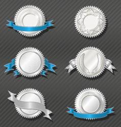 emblems series medallion vector image vector image