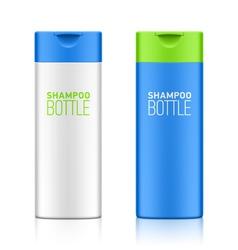 Shampoo bottle template vector image vector image