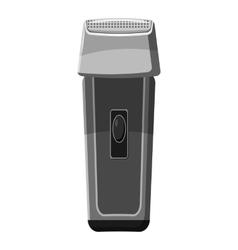 Hair clipper icon gray monochrome style vector image