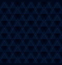 abstract of blue triangles shapes pattern vector image