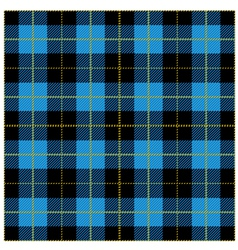Blue Tartan Plaid Design vector image