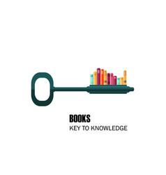 book key science vector image
