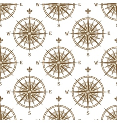 Compass seamless background pattern vector