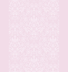 light pink pattern traditional textured background vector image