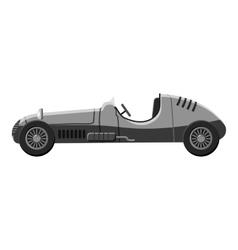 Machine icon gray monochrome style vector image