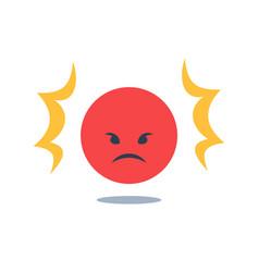 Negative thinking bad experience feedback vector