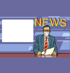 News covid19 coronavirus pandemic vector