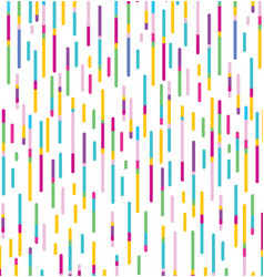 Seamless parallel colorful lines pattern vector